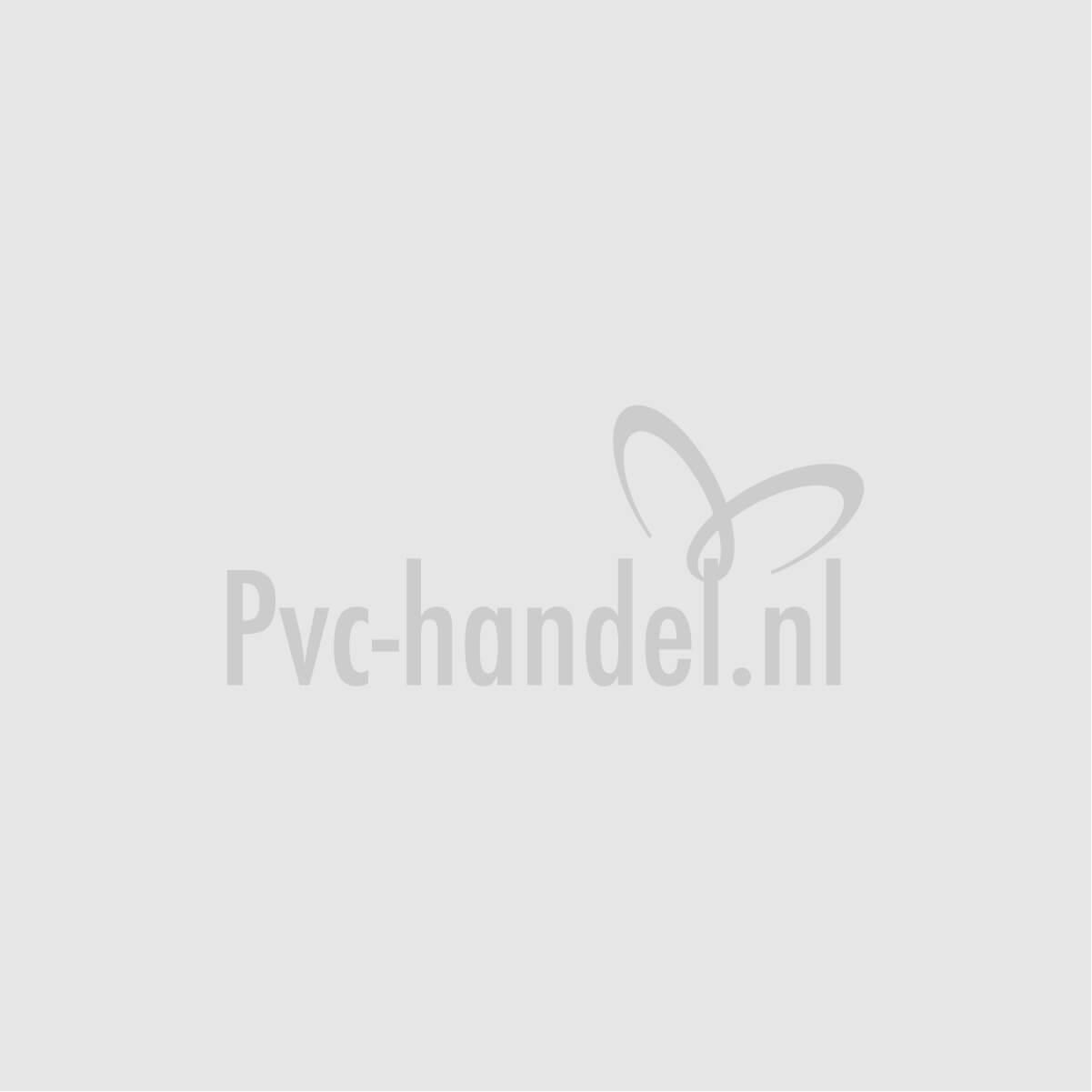 PVC puntstuk buitendraad met zes-achtkant